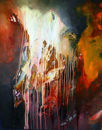 Ute Kleist, Liturgy of Light, Abstraktes, Poesie, Gegenwartskunst, Abstrakter Expressionismus