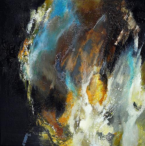 Ute Kleist, Die Zeit des Wachsens, Abstraktes, Glauben, Gegenwartskunst