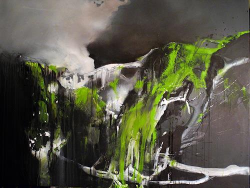Ute Kleist, Eigene Wege, Abstraktes, Glauben, Gegenwartskunst, Abstrakter Expressionismus