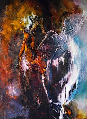 Ute Kleist, Opening, Glauben, Musik, Gegenwartskunst, Abstrakter Expressionismus