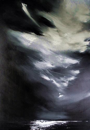 Ute Kleist, Klares Wissen, Landschaft, Glauben, Gegenwartskunst, Abstrakter Expressionismus