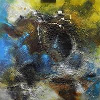 Ute-Kleist-Abstraktes-Diverse-Gefuehle-Moderne-Expressionismus