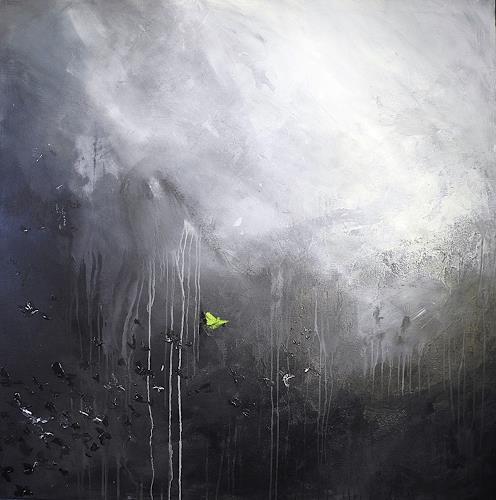 Ute Kleist, hope, Glauben, Gefühle, Abstrakte Kunst, Abstrakter Expressionismus
