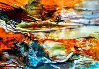 Ute-Kleist-Landschaft-Gefuehle-Moderne-Expressionismus