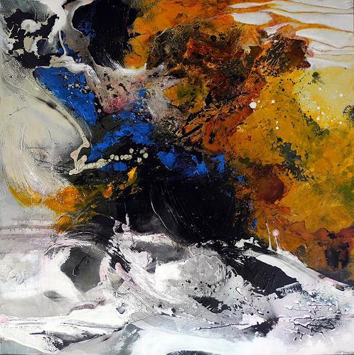 Ute Kleist, Geben und Nehmen, Abstraktes, Gefühle, Expressionismus, Abstrakter Expressionismus