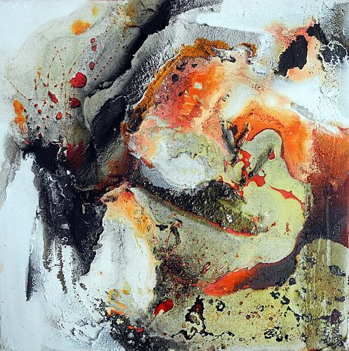 Ute Kleist, Mitten unterm Jahr III, Abstraktes, Zeiten, Expressionismus