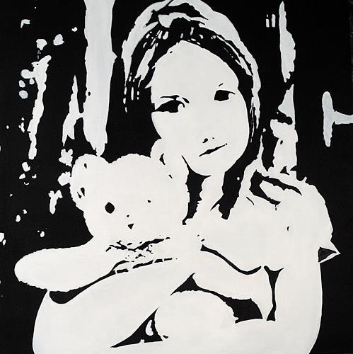 Ute Kleist, TEDDY, Gefühle, Gegenwartskunst, Expressionismus