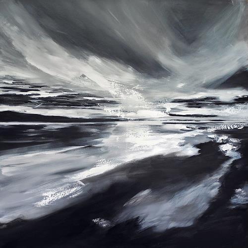 Ute Kleist, FREI!, Landschaft, Glauben, Expressionismus, Abstrakter Expressionismus