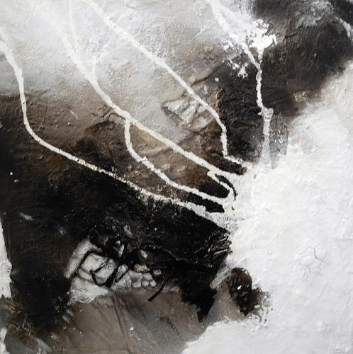 Ute Kleist, Gestrandet II, Zeiten, Abstraktes, Gegenwartskunst, Abstrakter Expressionismus