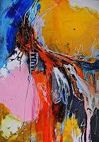 Ute-Kleist-Abstraktes-Landschaft-Moderne-Expressionismus