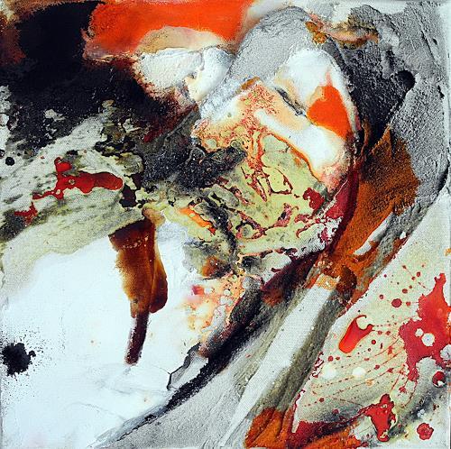 Ute Kleist, Mitten unterm Jahr I, Abstraktes, Zeiten, Expressionismus, Abstrakter Expressionismus