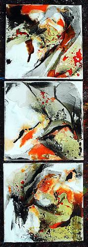 Ute Kleist, Miiten unterm Jahr, Abstraktes, Zeiten, Expressionismus