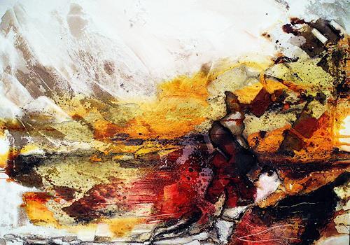 Ute Kleist, Nur eine Ahnung, Glauben, Diverses, Expressionismus, Moderne