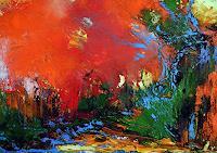 Ute-Kleist-Landschaft-Glauben-Moderne-Expressionismus