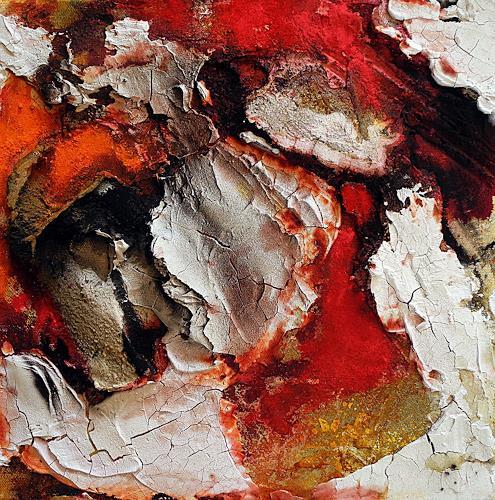 Ute Kleist, Herztöne II, Abstraktes, Gefühle, Expressionismus