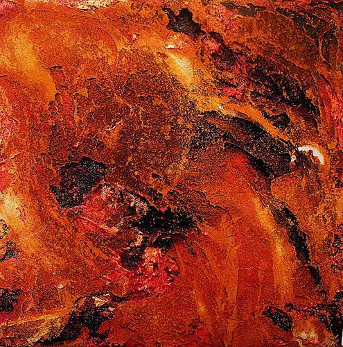 Ute Kleist, GLUT II, Abstraktes, Gefühle, Expressionismus