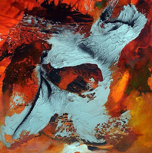 Ute Kleist, summerfeeling III, Gefühle, Landschaft, Expressionismus