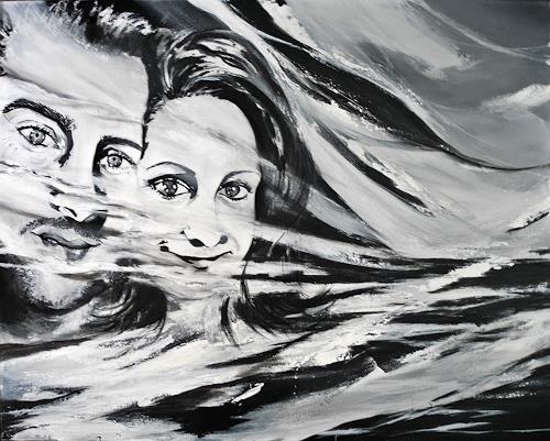 Ute Kleist, EINSSEIN, Symbol, Gefühle: Liebe, Expressionismus