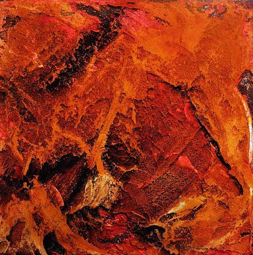 Ute Kleist, GLUT I, Abstraktes, Gefühle, Expressionismus, Abstrakter Expressionismus