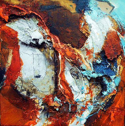 Ute Kleist, Manchmal, Abstraktes, Bewegung, Expressionismus