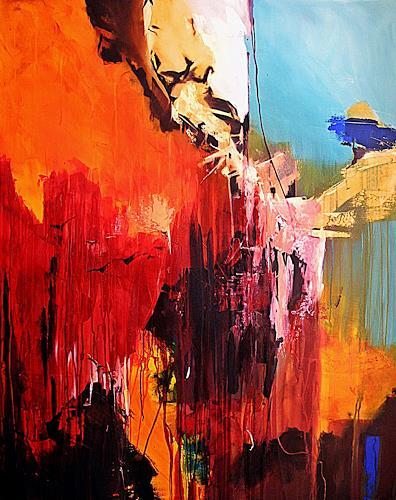 Ute Kleist, Die Kunst des Loslassens II, Abstraktes, Glauben, Expressionismus, Abstrakter Expressionismus
