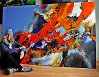 Ute-Kleist-Abstraktes-Glauben-Moderne-Expressionismus-Abstrakter-Expressionismus