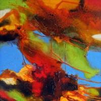Ute-Kleist-Abstraktes-Bewegung-Moderne-Expressionismus-Abstrakter-Expressionismus