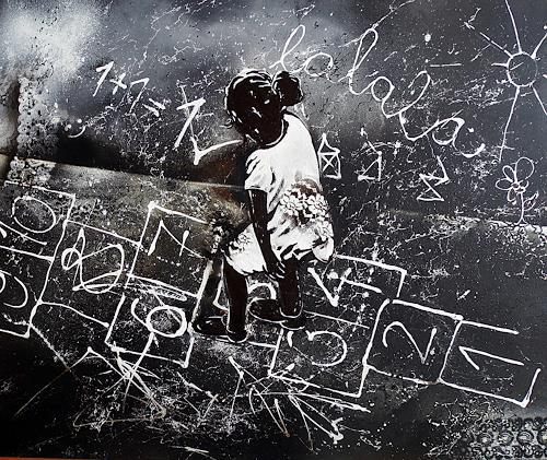 Ute Kleist, Lalala, Glauben, Symbol, Gegenwartskunst, Abstrakter Expressionismus