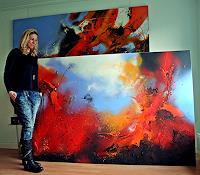 Ute-Kleist-Landschaft-Natur-Moderne-Expressionismus-Abstrakter-Expressionismus