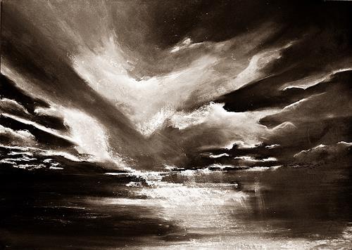 Ute Kleist, Silence, Natur, Poesie, Gegenwartskunst, Expressionismus