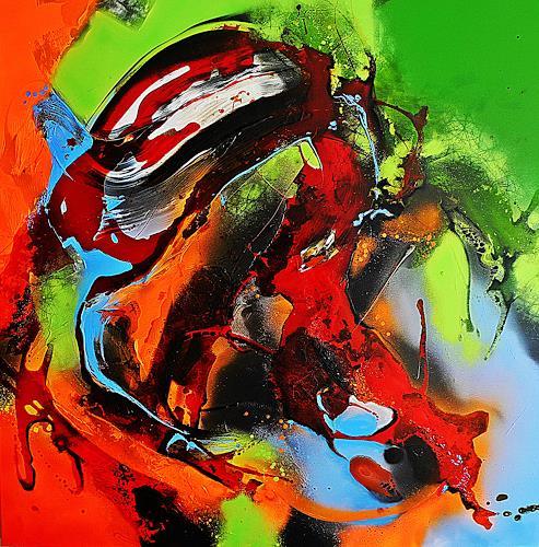 Ute Kleist, LEBEN, Gefühle, Abstraktes, Expressionismus, Abstrakter Expressionismus