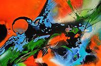 Ute-Kleist-Gefuehle-Abstraktes-Moderne-Expressionismus