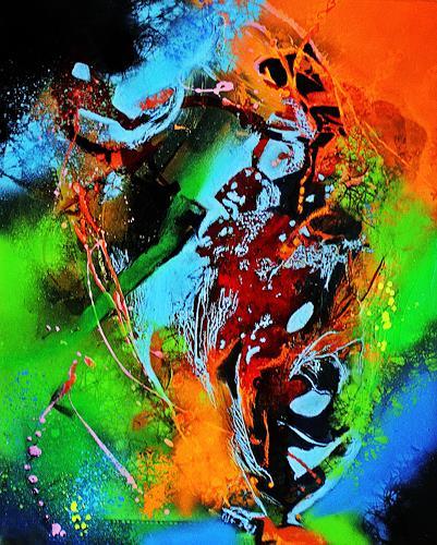 Ute Kleist, Zweifellos, Natur, Abstraktes, Expressionismus, Abstrakter Expressionismus