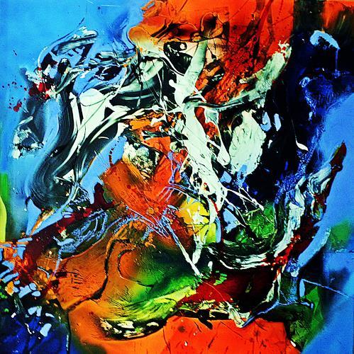 Ute Kleist, It´s me, Abstraktes, Gefühle, Expressionismus, Abstrakter Expressionismus