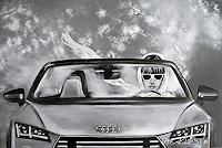 Ute-Kleist-Bewegung-Verkehr-Auto-Moderne-Expressionismus