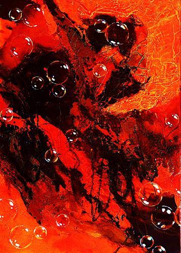 Ute Kleist, WANDERER I, Gefühle, Bewegung, Expressionismus
