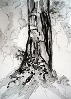 Ute-Kleist-Natur-Pflanzen-Baeume-Moderne-Expressionismus