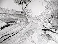 Ute-Kleist-Landschaft-Poesie-Moderne-Expressionismus