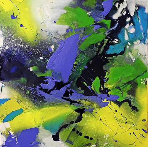 Ute Kleist, Das Erwachende II, Natur, Gefühle, Expressionismus
