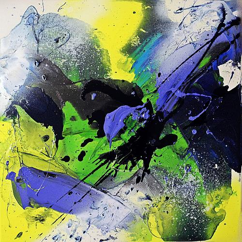 Ute Kleist, Das Erwachende III, Natur, Gefühle, Expressionismus