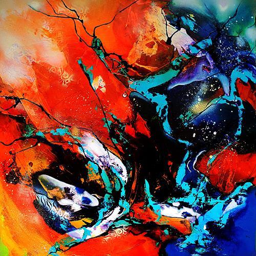 Ute Kleist, Liebeslied an einen Baum, Natur, Gefühle, Expressionismus, Abstrakter Expressionismus