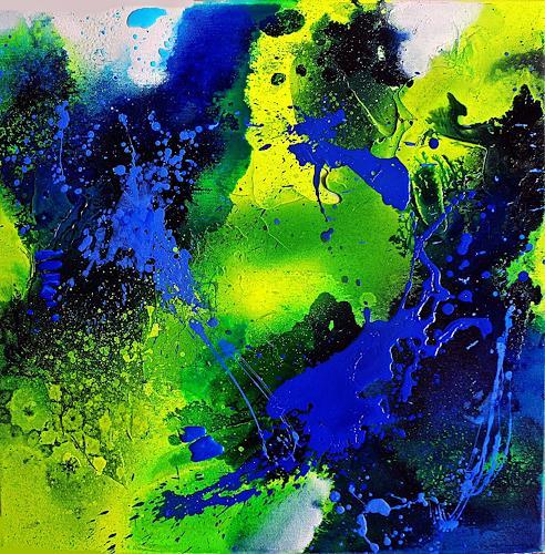 Ute Kleist, LeichtSINN III, Natur, Gefühle, Expressionismus, Abstrakter Expressionismus