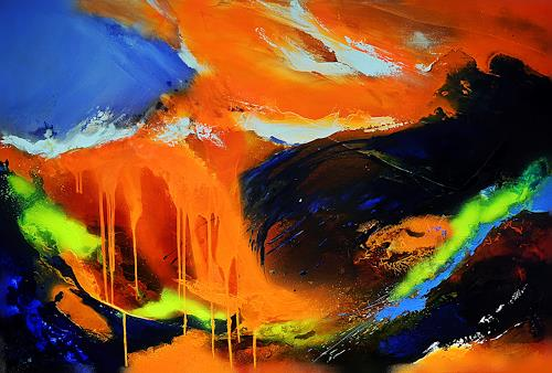 Ute Kleist, ALLES in ALLEM, Gefühle, Natur, Expressionismus, Abstrakter Expressionismus