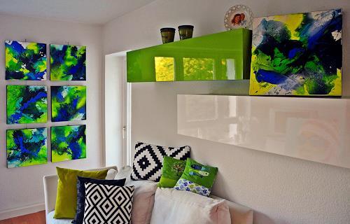 Ute Kleist, Home sweet home, Natur, Gefühle, Expressionismus