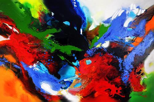 Ute Kleist, ENDE OFFEN.................., Glauben, Gefühle, Expressionismus, Abstrakter Expressionismus