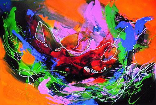 Ute Kleist, WENN ES NUR EINMAL............, Natur, Gefühle, Expressionismus