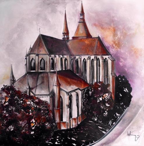 Ute Kleist, St.- Marienkirche zu Rostock, Bauten: Kirchen, Architektur, Gegenwartskunst