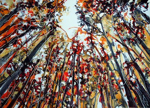Ute Kleist, Bäume sind Gedichte....., Natur, Poesie, Expressionismus