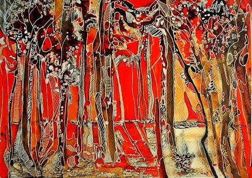 Ute Kleist, WUNDERLAND, Natur, Poesie, Expressionismus