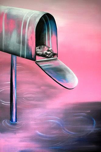 Ute Kleist, BITTE FLIEG DOCH!, Symbol, Gefühle, expressiver Realismus, Abstrakter Expressionismus